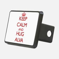 Keep Calm and HUG Alva Hitch Cover