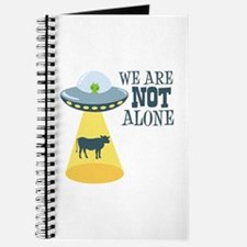 WE ARE NOT ALONE Journal