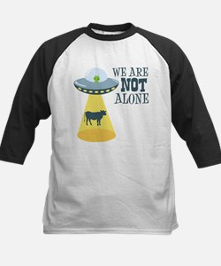 WE ARE NOT ALONE Baseball Jersey