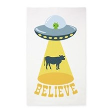 BELIEVE 3'x5' Area Rug