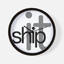 Ship It! - Hip Wall Clock