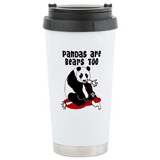 Cute Cartoon panda Travel Mug