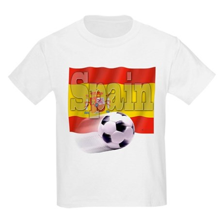 Soccer Flag Spain Kids Light T-Shirt