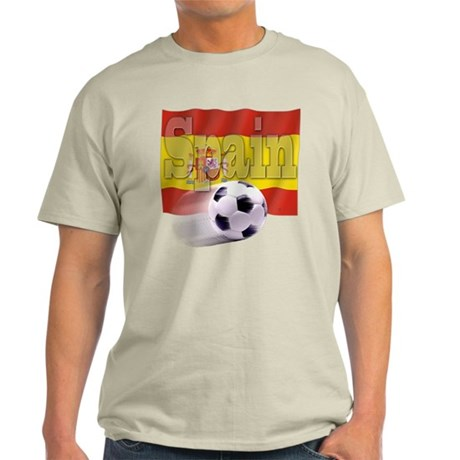 Soccer Flag Spain Light T-Shirt