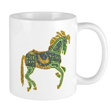 Jewel Art Horse Mug