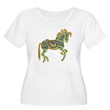 Jewel Art Horse T-Shirt