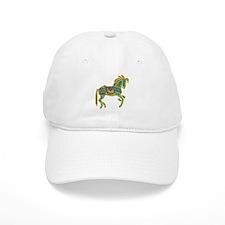 Jewel Art Horse Baseball Cap