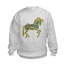 Jewel Art Horse Sweatshirt