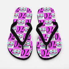 FANCY 70TH Flip Flops