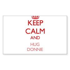Keep Calm and HUG Donnie Decal