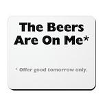 Free Beer Mousepad