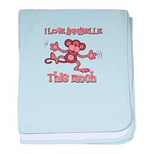 I love Annabelle this much baby blanket
