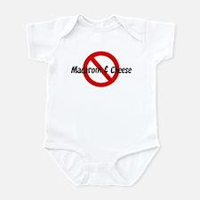 Anti Macaroni & Cheese Infant Bodysuit