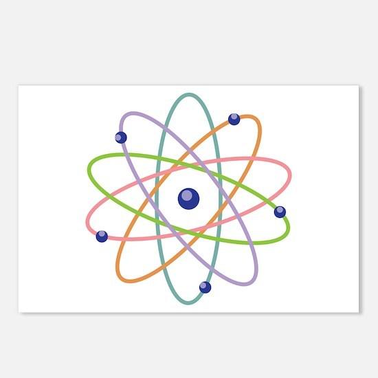 Atom Model Postcards (Package of 8)