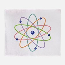 Atom Model Throw Blanket