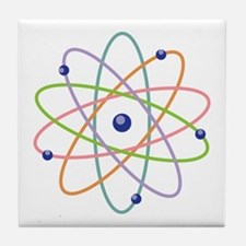 Atom Model Tile Coaster