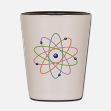 Atom Model Shot Glass
