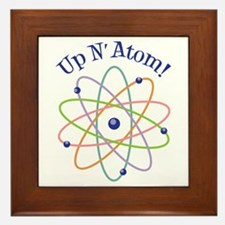 Up N Atom! Framed Tile