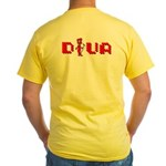 """Diva"" Yellow T-Shirt"