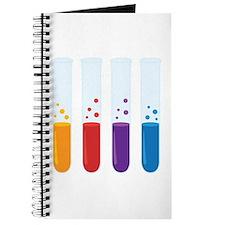 Chemistry Test Tubes Journal