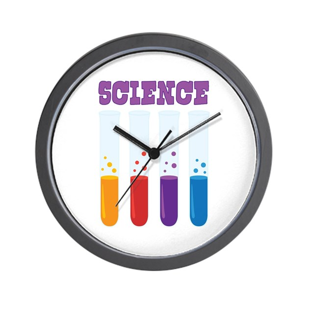 Science Wall Clock By Hopscotch3