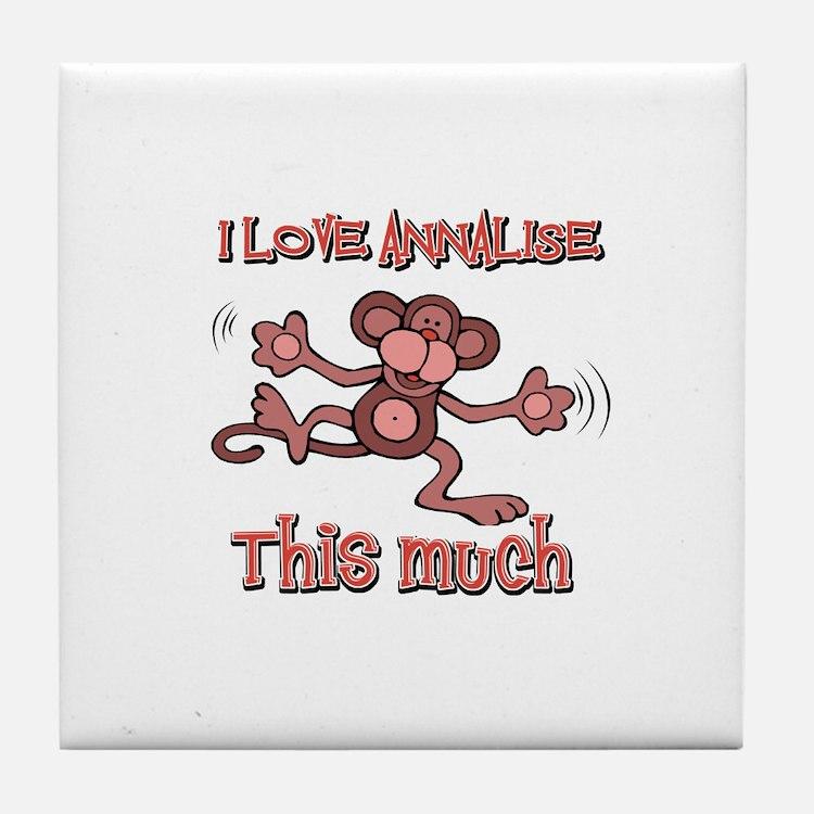 I love Annalise Tile Coaster