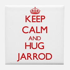 Keep Calm and HUG Jarrod Tile Coaster