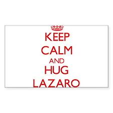 Keep Calm and HUG Lazaro Decal