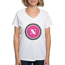 Pink N Monogram Shirt