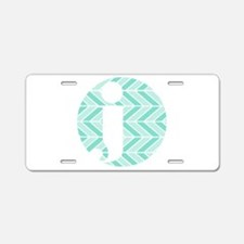 Chevron Aluminum License Plate