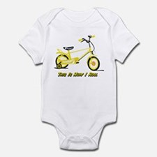 This Is How I Roll Yellow Infant Bodysuit
