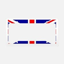 Union Jack flag License Plate Holder