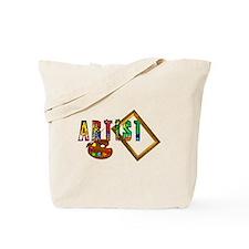 Artist-Frame-Pallet Tote Bag