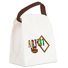 Artist-Frame-pallet Canvas Lunch Bag
