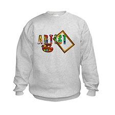 Artist-Frame-pallet Sweatshirt