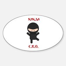 Ninja C.E.O. Decal