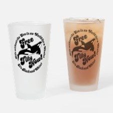 Free Tilly Now Blk Drinking Glass