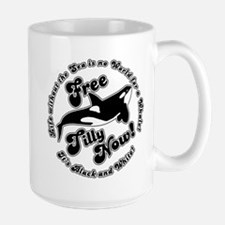 Free Tilly Now Blk Mugs
