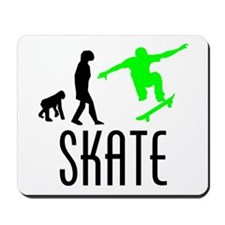 Skate Evolution (Green) Mousepad