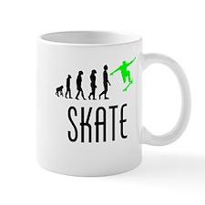 Skate Evolution (Green) Mugs