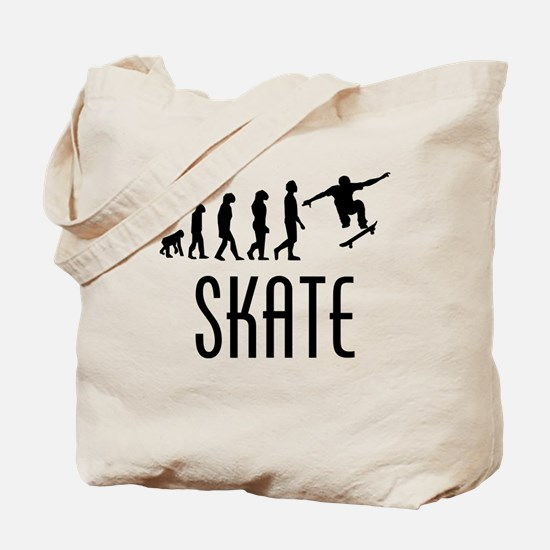 Skate Evolution Tote Bag