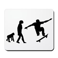 Skateboard Evolution Mousepad