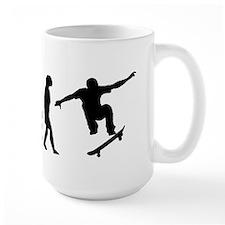 Skateboard Evolution Mugs