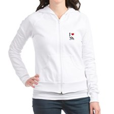 I love Synchronized Swimming Jumper Hoody Pullover