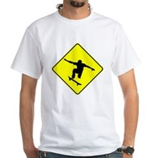 Skateboarder Crossing T-Shirt