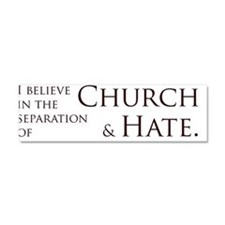 Cute Mormon Car Magnet 10 x 3