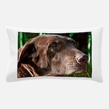 Chocolate Lab Buddy Pillow Case