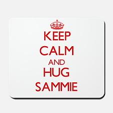 Keep Calm and HUG Sammie Mousepad