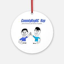 ComedyBoyDC Rap cover photo Ornament (Round)