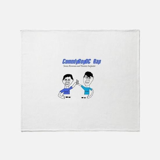 ComedyBoyDC Rap cover photo Throw Blanket